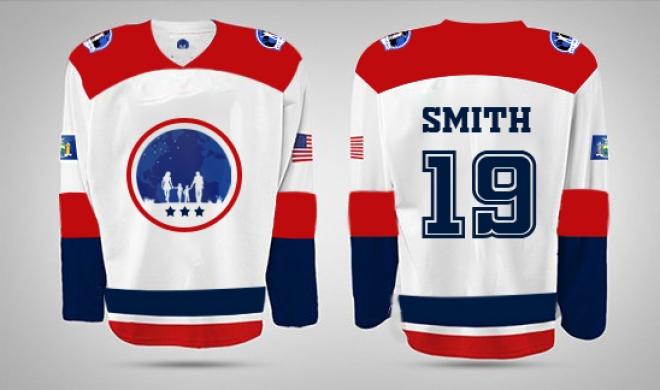 DesignContest USA Hockey Jersey usa hockey jersey