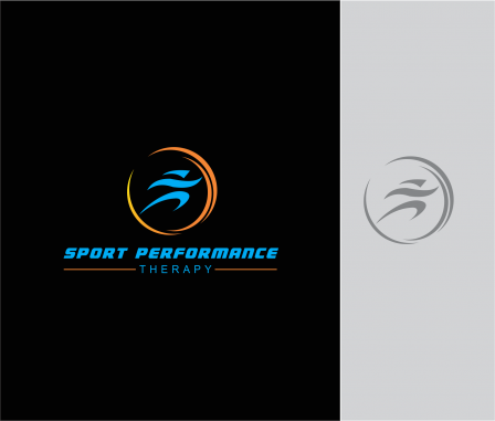 Sport Logo Design — Faster, Higher, Stronger by Sport Performance Therapy