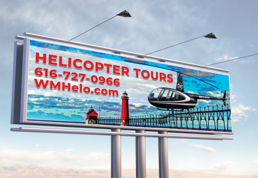 Banner Design by Helicopter Tours