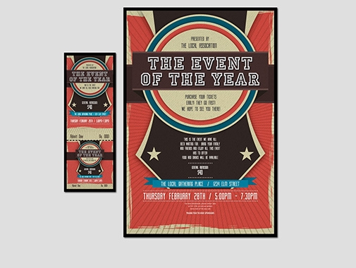 Ticket Design by Contest by Jefrildsign