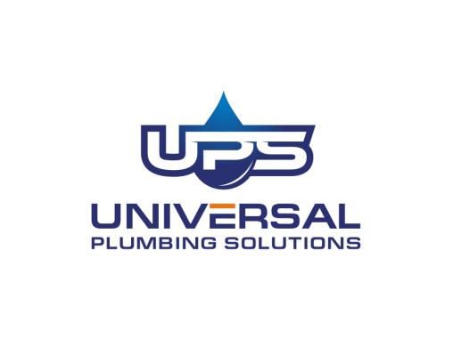 Plumbing Company Logo Design by UPS universal plumbing solution