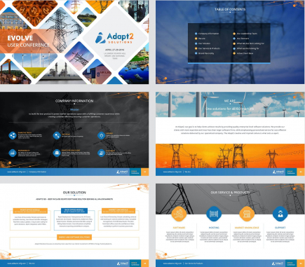 Powerpoint Design by Adapt2 Solution