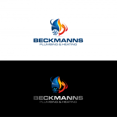 Plumbing Company Logo Design by Beckmanns plumbing&heating