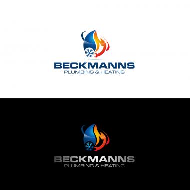 Plumbing Company Logo Design by Beckmanns plumbing&heating