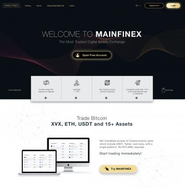 Sitio web único en sólo unos días by MainFinex