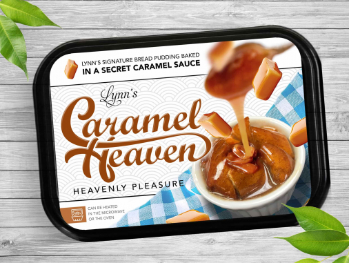 Product Label Design by Caramel Heaven
