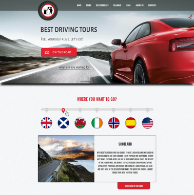 Theme Design by Contests by Best driving tours