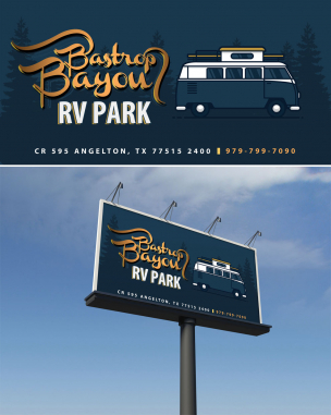 Billboard Design by Contests by Boston Bayon RV Park