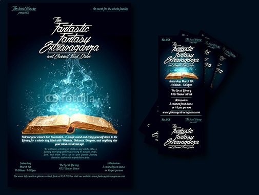 Ticket Design by Contest by Arafa