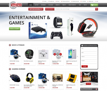 Mobile Website Design by Contest by Target