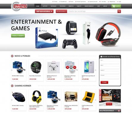 Mobile Website Design by Target