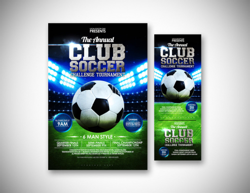 Ticket Design by Local Soocer Club