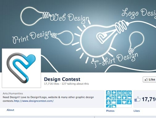 Fans Page Design by Contests by VladTodirut