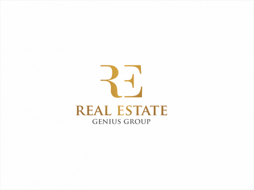 Real Estate Logo Design by RE - Real Estate Genius Group