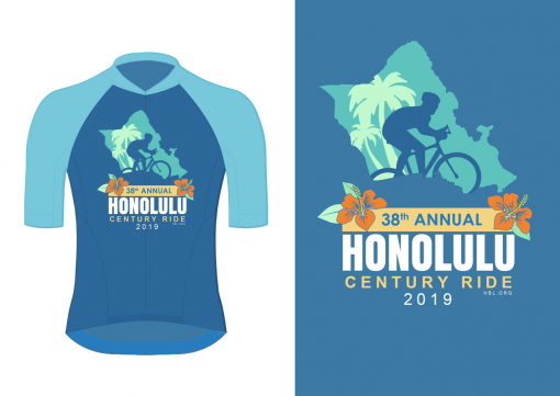 T-Shirt Design by Honolulu century ride