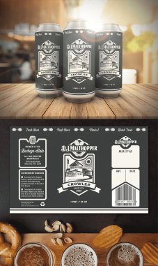 Product Label Design by Contests by DJ Malthopper
