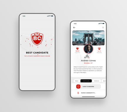 Mobile App Design by Best Candidate