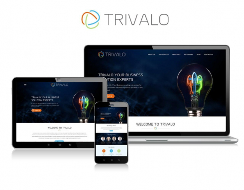 Mobile Website Design by Trivalo