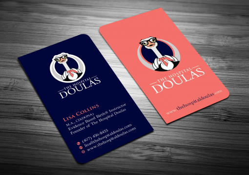 Business Stationery Design by The Hospital Doulas
