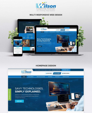 Theme Design by Contests by Wilson
