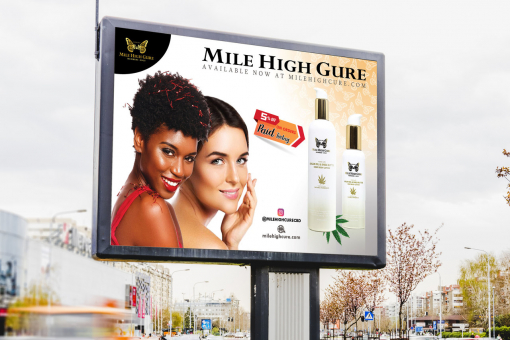 Billboard Design by Contests by Mile High Gure