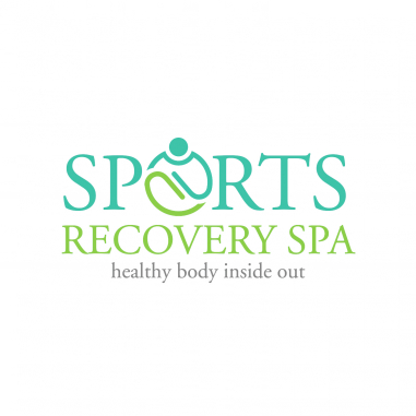 Sport Logo Design — Faster, Higher, Stronger by Sports Recovery SPA