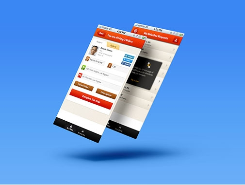 Mobile App Design by Contests by Web2feel