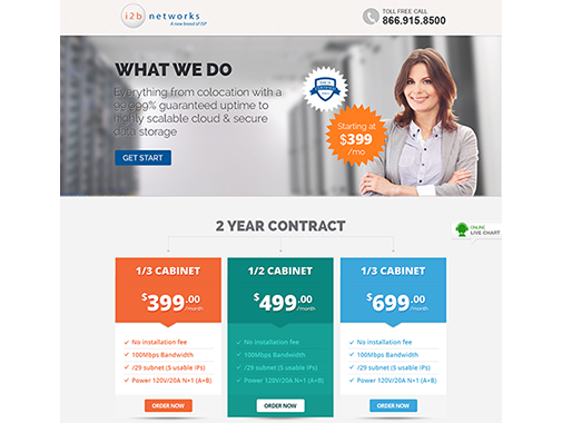Landing page design  for Unbounce members by iNoesis