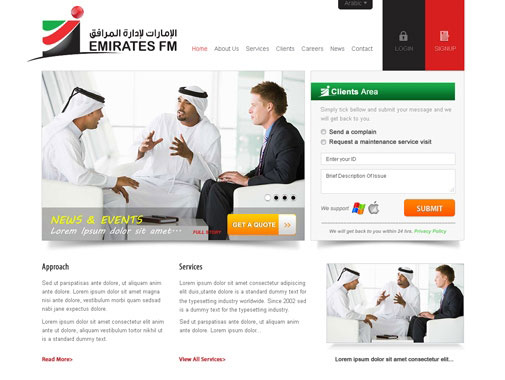 Mobile Website Design by Contest by  WebStar