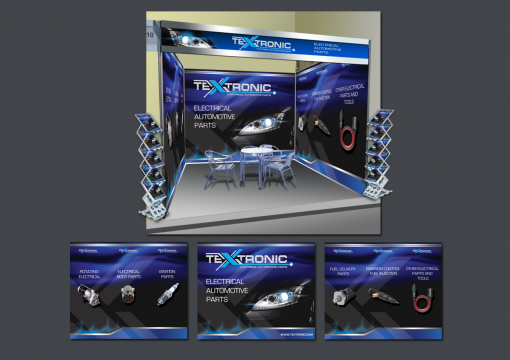 Trade Show SWAG Design by Contests by Textronic