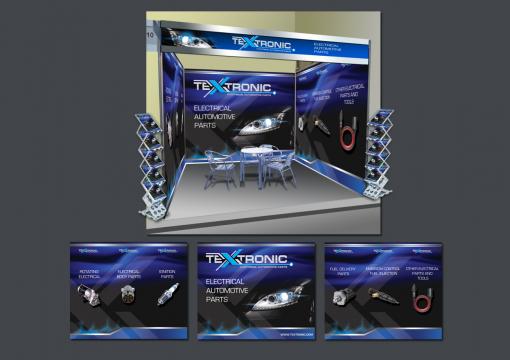 Дизайн для выставок, который вы полюбите by Textronic