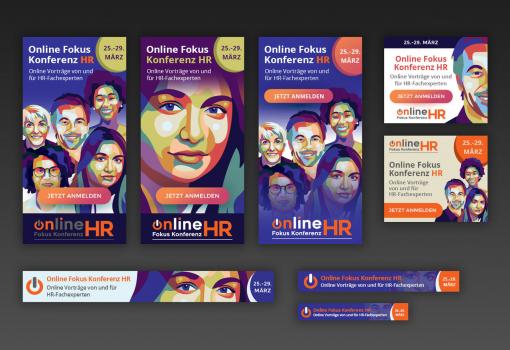 Дизайн баннера, на который кликают by Online Fokuz Konferenz HR