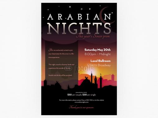 Дизайн билета, который вы полюбите by Arabian Nights