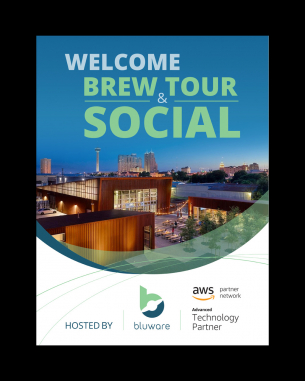Custom Poster Design by Welcome brew tour & social