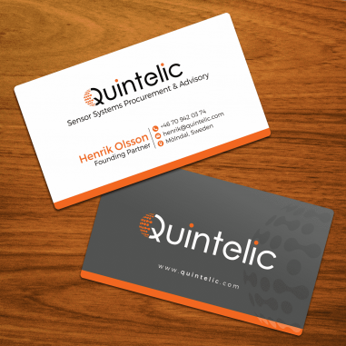 Business Card Design by Contest by Quintelic