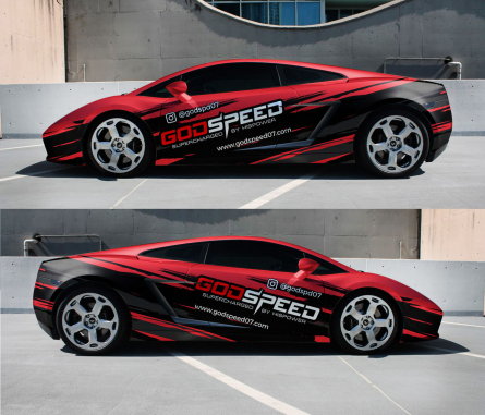 Car Wrap Design by Car