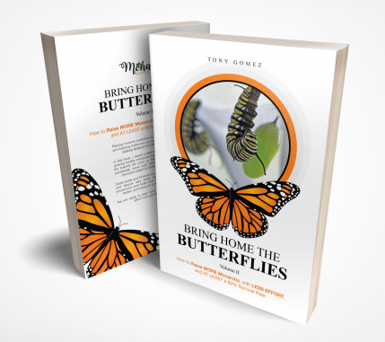 Cubierta de libro que le va gustar by Bring home the butterflies