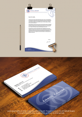 Business Stationery Design by Khalil Center