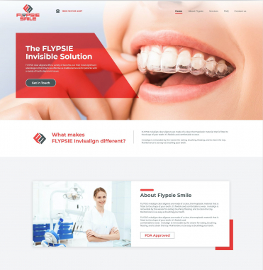 Professional Website Design  by Flypsie Smile