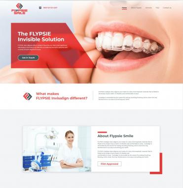 Sitio web único en sólo unos días by Flypsie Smile