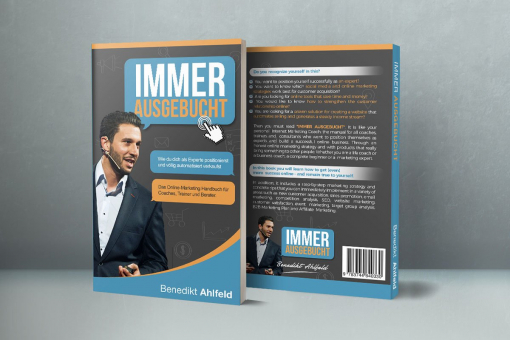 Book Cover Design by Contest by Immer Ausgebucht